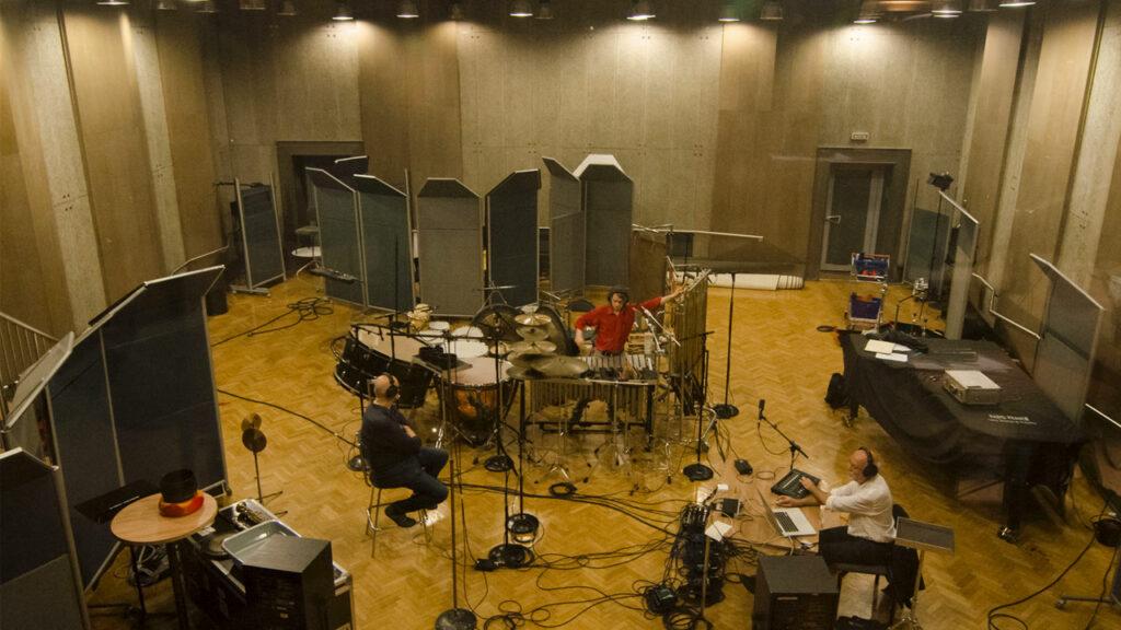CD Recording Radio France. (Photo Marina Losa )